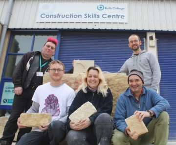 Bath College Stone Carving Team